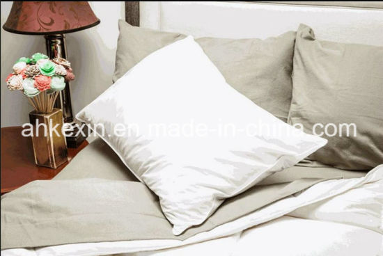 2-4cm White Duck Feather Pillow for Hotel pictures & photos