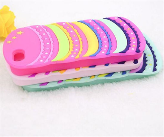 Surper Quality Minion Silicone Case for iPhone 5 pictures & photos