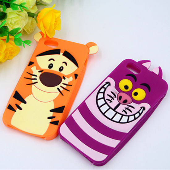 3D Cute Soft Silicone Skin Cover for Cell iPhone6 6s pictures & photos