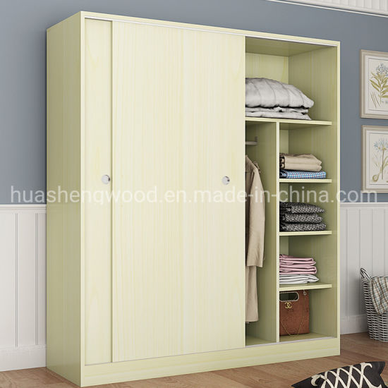 China Supplier Cheap Wholesale Bedroom Furniture Wooden Wardrobe China Wardrobe Closet Cabinet