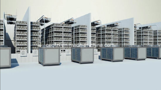 Split Type Climate Control Machine for Mushroom Grow Room pictures & photos