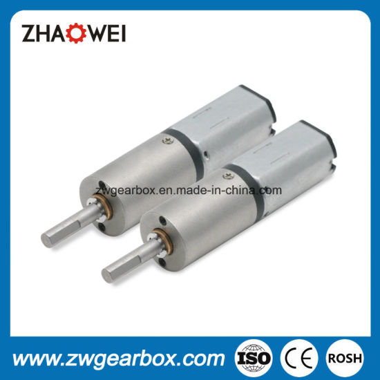 12mm 3V DC Geared Motor with Metal Shell Planetary Gearbox pictures & photos