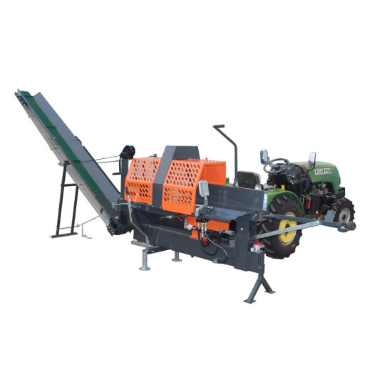 Hydraulic Wood Cutter Log Splitter Cutting machinery with New Ce (TUV)
