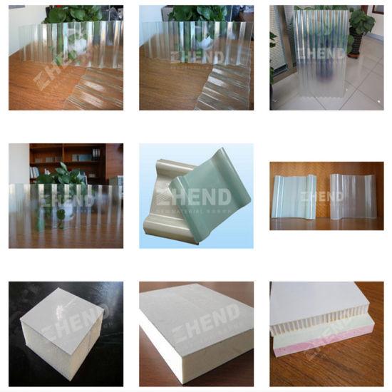 Fiberglass Reinforced Polyester Roof Tile Sheet Making Machine