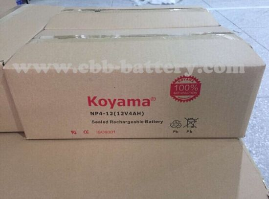 Koyama 12V1.3ah Valve Regulated Lead Acid Batteries for Emergency Lighting pictures & photos