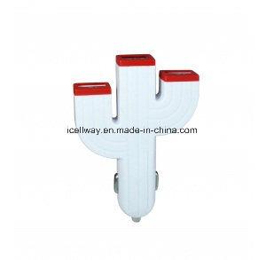 5V 3.1A Plug in Saver Charger 3USB Car Charger (professional manufacturer)