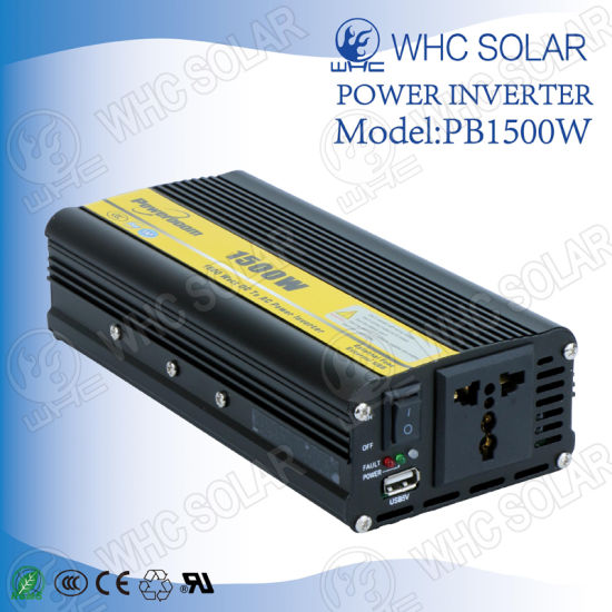 1500W DC to AC Intelligent High-Power Inverter pictures & photos