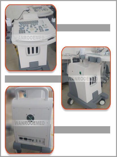 Us880 128 Elements Full-Digital Trolley Ultrasound Scanner pictures & photos