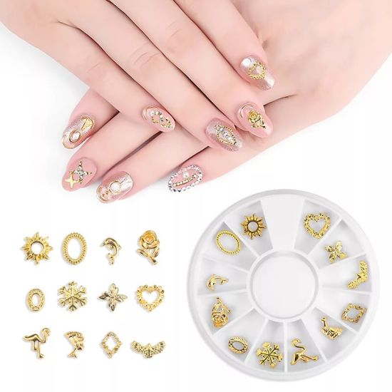 Charms Metal Alloy Diamonds Pearl Jewelry Nail Art Decorations Accessories pictures & photos