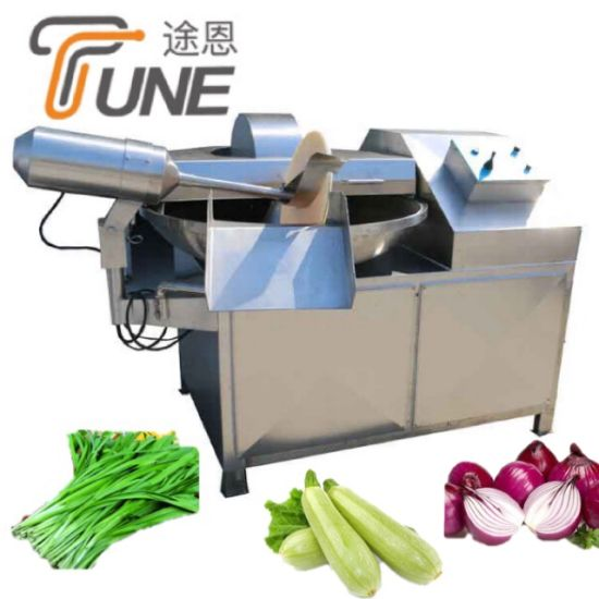 Stainless Steel Bowl Cutter for Meat Processing / Meat Vegetable Bowl Chopper