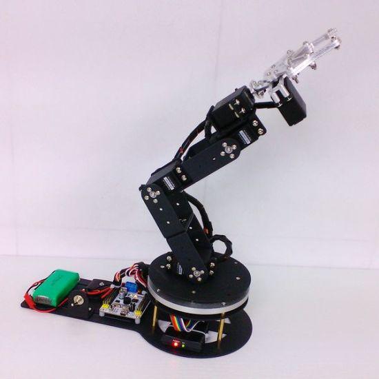 China 6 Dof Arduino Control Kit Servos Swivel Rotating