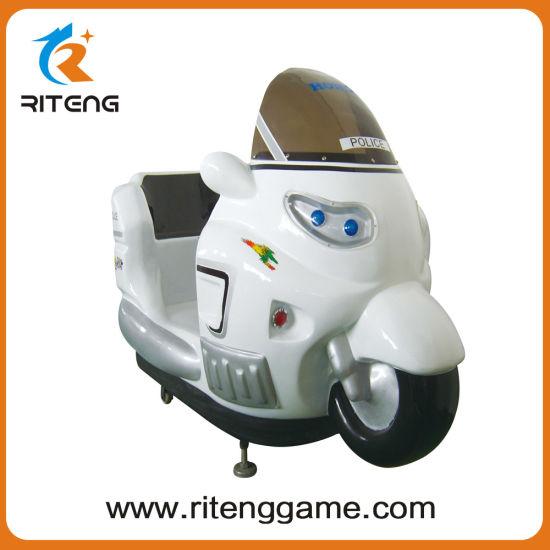 Popular Kids Car Kiddie Ride Motorcycle Amusement Game Machine