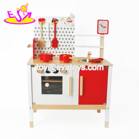 New Products Pretend Play Wooden Toddler Kitchen Set W10c035