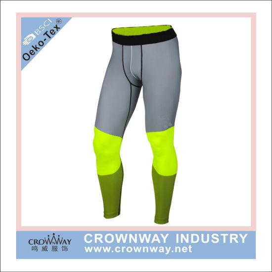58fcb8c2e0 China Mens Custom Compression Pants Basketball Sports Gym Tights ...