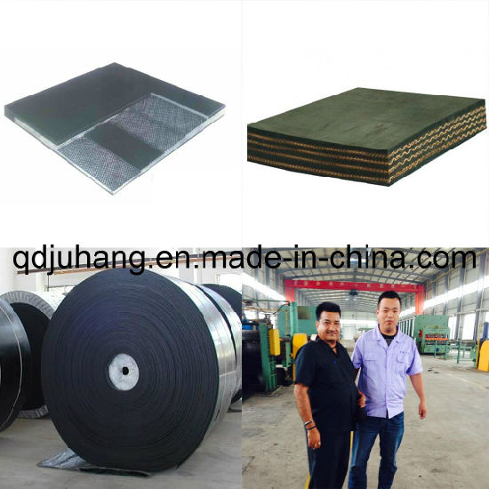 Ep/Nn Nylon Cotton Wear-Resistant Tubular Rubber Conveyor Belt pictures & photos
