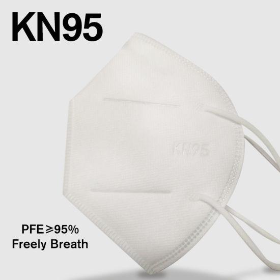 Wholesale Civilian Use High Quality 5 Ply Pm2.5 FFP2 Dust Mask Mascarilla Mascherina Mascara Musk KN95 Kn 95 GB2626 En149 Based Test Report