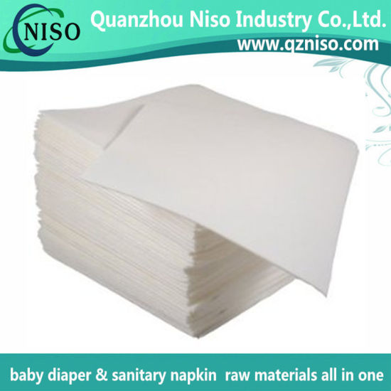Non-Linting Air Laid Paper in Textile-Like Surface with ISO (DG-078)