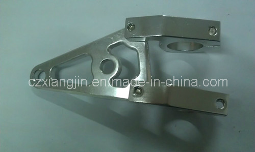 CNC Aluminum Motorcycle Light Bracket