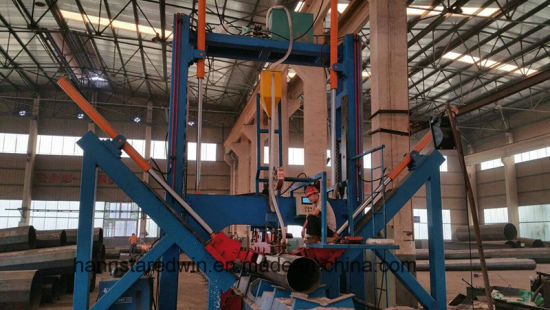 Electricity Pole Pipe Outsaid Longitudinal Seam Welding Machine pictures & photos