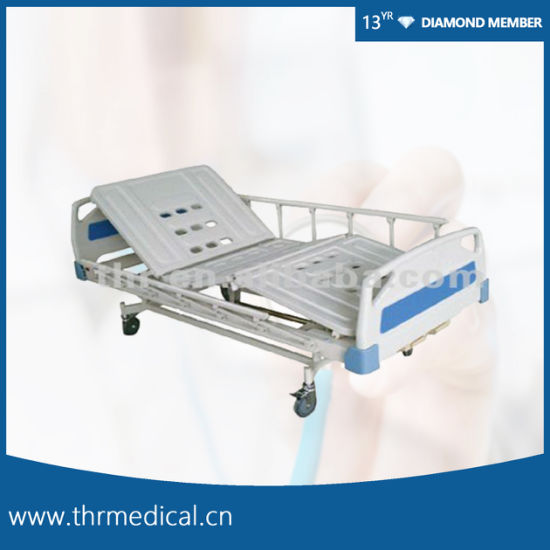 Two Crank Manual Hospital Bed (THR-MBFY)