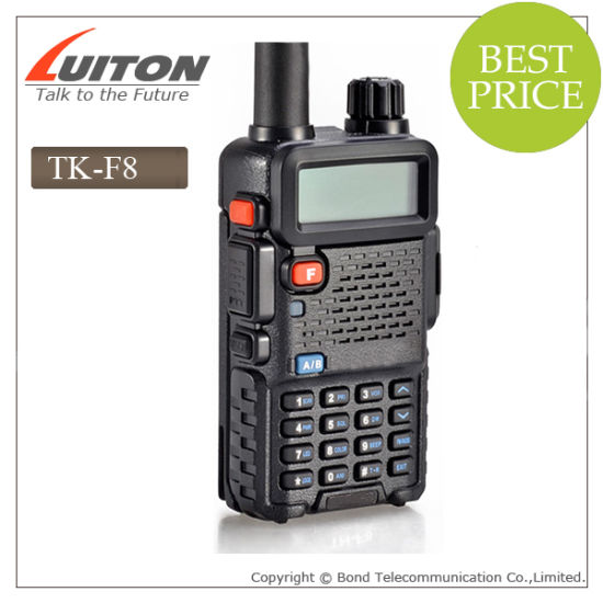 Dual Display, Dual Standby Tk-F8 UHF VHF Two Way Radio pictures & photos