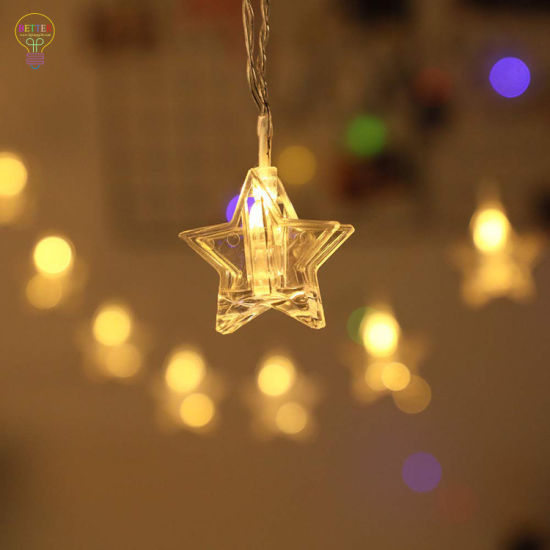 LED Star Photo Clips String Lights pictures & photos