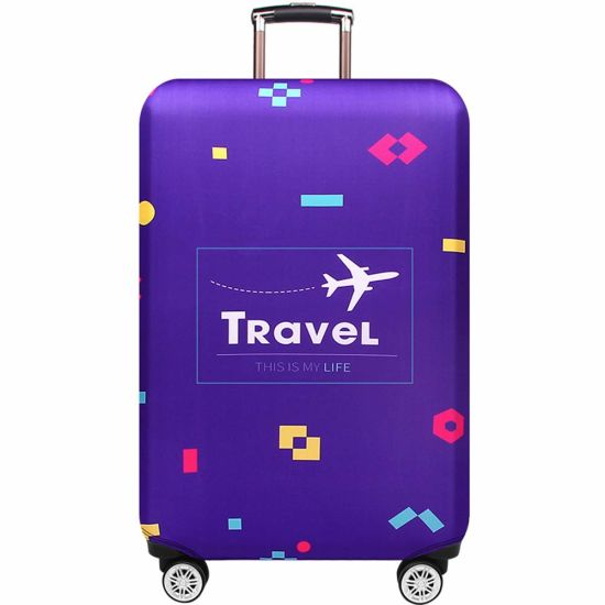 Suitcase Cover Protective Customized Luggage Cover Fits 18-32 Inch Summer Beach XL