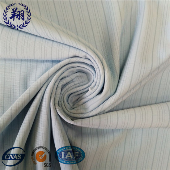 Knitted Nylon Spandex Jacquard Fabric with Light Weight