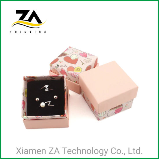 Amazon Top Seller Customized Small Paper Gift Box for Jewelry