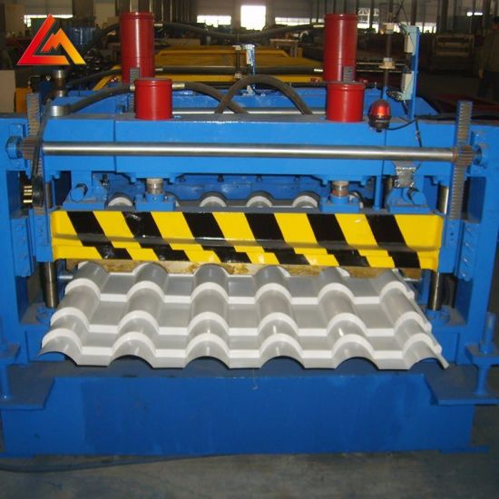 Yx35-192-960 Glazed Tile Roof Panel Roll Forming Machine