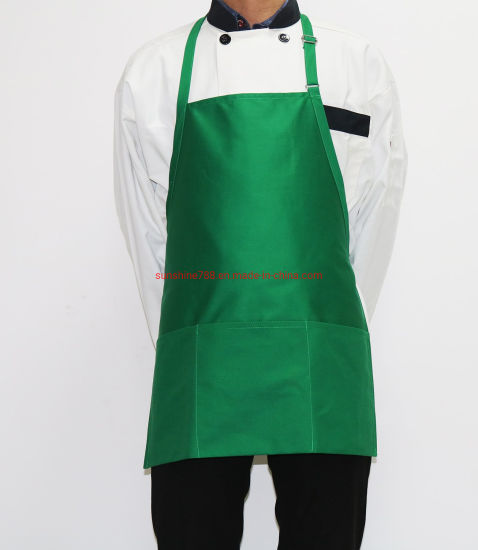 Customized Restaurant Chef BBQ Kitchen Cooking Waiter Adjustable Bib Apron