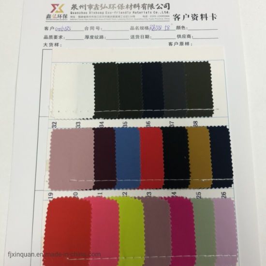 Rb 518 Polyester Oxford Fabric PVC/PU Polyester Twill Fabric