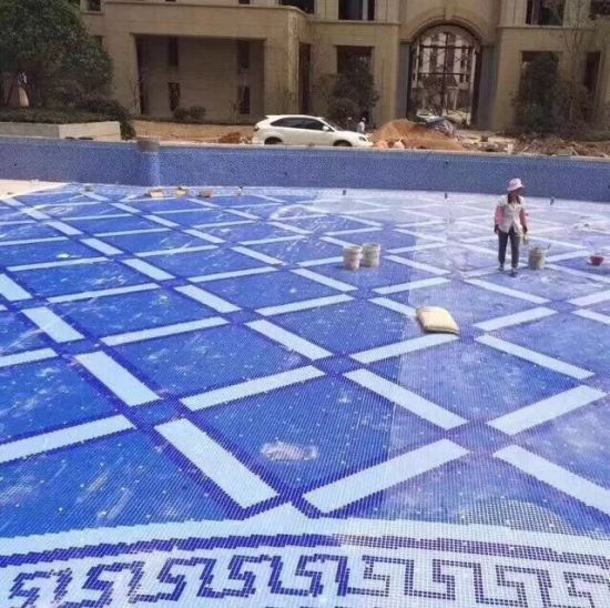 China Cheap Prices Custom Pattern Indoor Swimming Pool Tile ...