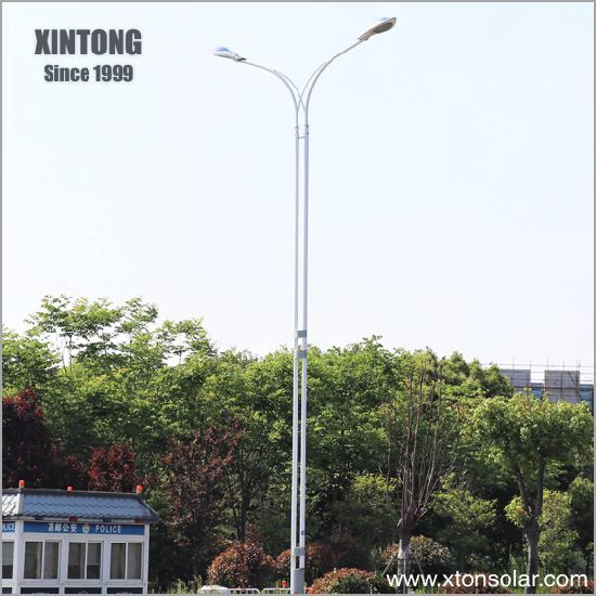 4m Welded Tube Street Lamp Light Arms with Pole