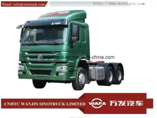 Sinotruk HOWO A7 6X4 290-420HP Heavy Duty Prime Mover Tractor Truck