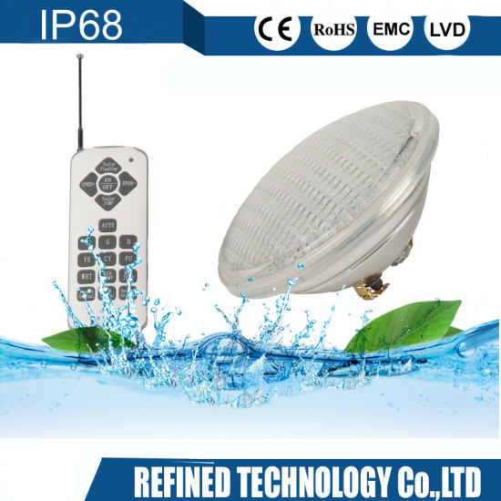 IP68 RGB 12V Wholesale 18W 24W 35W LED Swimming Pool Light WiFi Control Halogen PAR56 for Pentair Hayward Jandy Replacement Bulb Underwater Lights with Ce RoHS