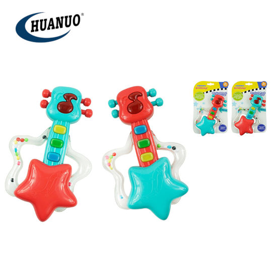 New Baby Plastic Guitar Teething Toys Musical Rattle Toy pictures & photos