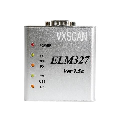 Elm327 1.5V USB Can-Bus Scanner Software Software V2.1 Supports Two Platforms DOS and Windows
