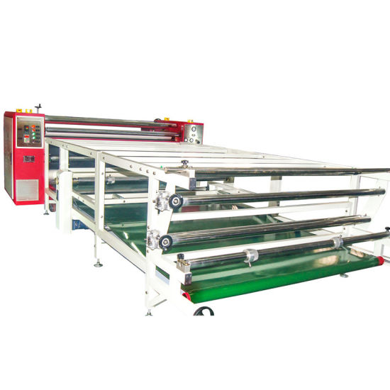 Full Roll to Roll Sublimation Printing Machine for Polyester Fabric