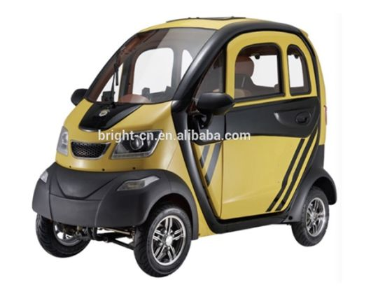 Electric Small Car, Mini Electric Vehicle 4 Four Wheel for Sale