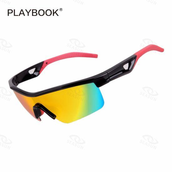 Wholesale Available Color Sun Glasses Fashionable Cycling Sports Polarized Sunglasses