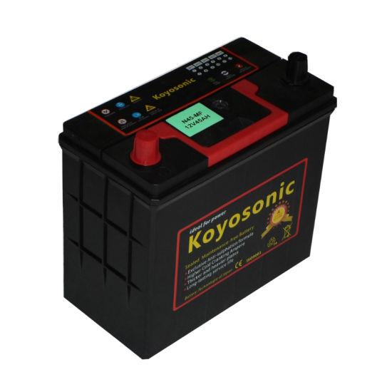 Mf Car Battery Color Carton Automotive Battery 12V