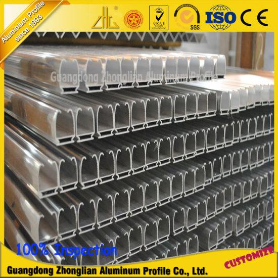 China Custom Aluminium Extrusions Aluminum Guide Rail