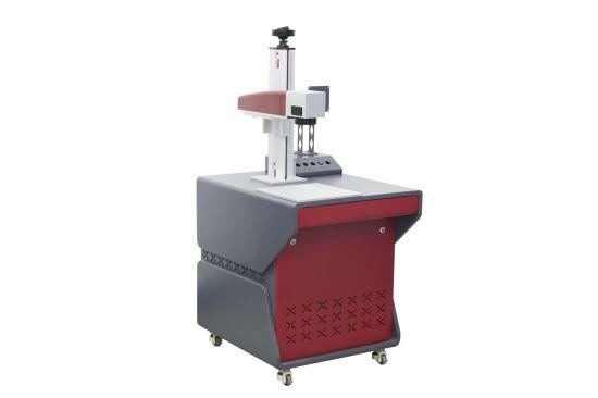 Red&Grey Color Fiber Laser Marking Cabinet
