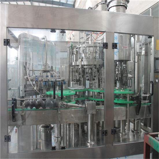 Monoblock 3 in 1 Small Bottle Carbonated Drink Filling Machine pictures & photos