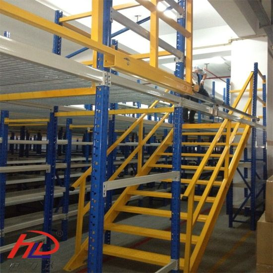 Pallet Shelving Supported Steel Mezzanine Racks pictures & photos