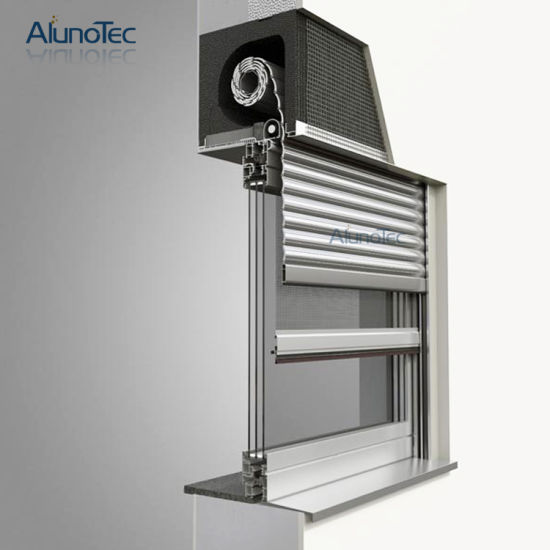 Security Automatic Aluminum Roller Shutter pictures & photos