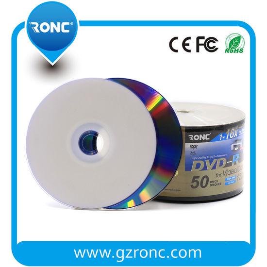 picture regarding Ink Jet Printable Dvd identify China White Inkjet Printable 4.7GB 16X 120min Blank DVD DVD