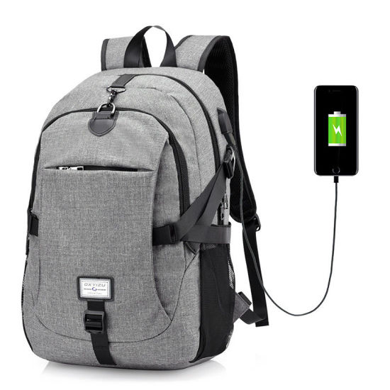 65d38665cf43 China Grey Men′s Backpacks Large Capacity Laptop Notebook Rucksack ...