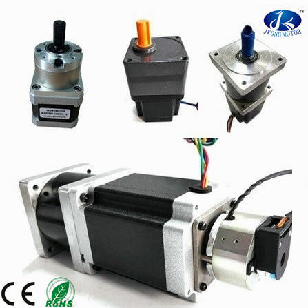 Factory Price NEMA 23 Stepper Motor/ Electrical Motor with Gear Box